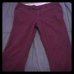 Maroon Aeropostale pants